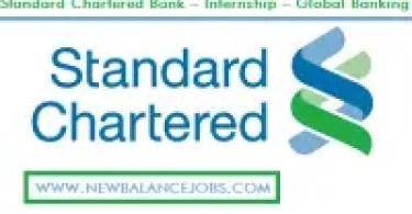 standard chartered bank internship