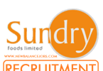 Sundry Foods Recruitment
