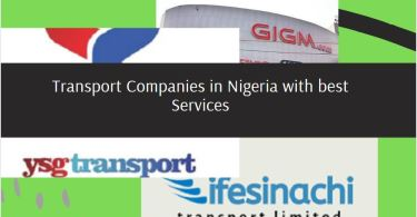 Transport companies in Nigeria