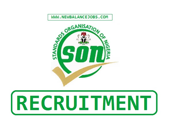 Standard Organization of Nigeria (SON) recruitment