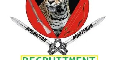Amotekun Recruitment