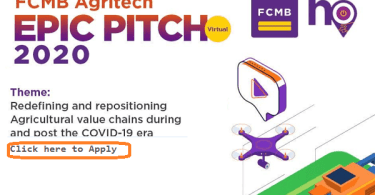 First City Monument Bank (FCMB) Agritech EPIC Pitch