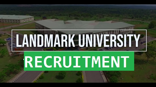 Landmark University recruitment