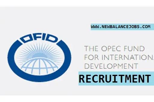 OPEC Fund Jobs
