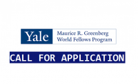 Yale Greenberg world fellows program