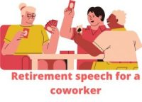 Retirement speech for a coworker