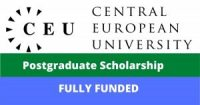 Central Europe University Postgraduate Scholarship