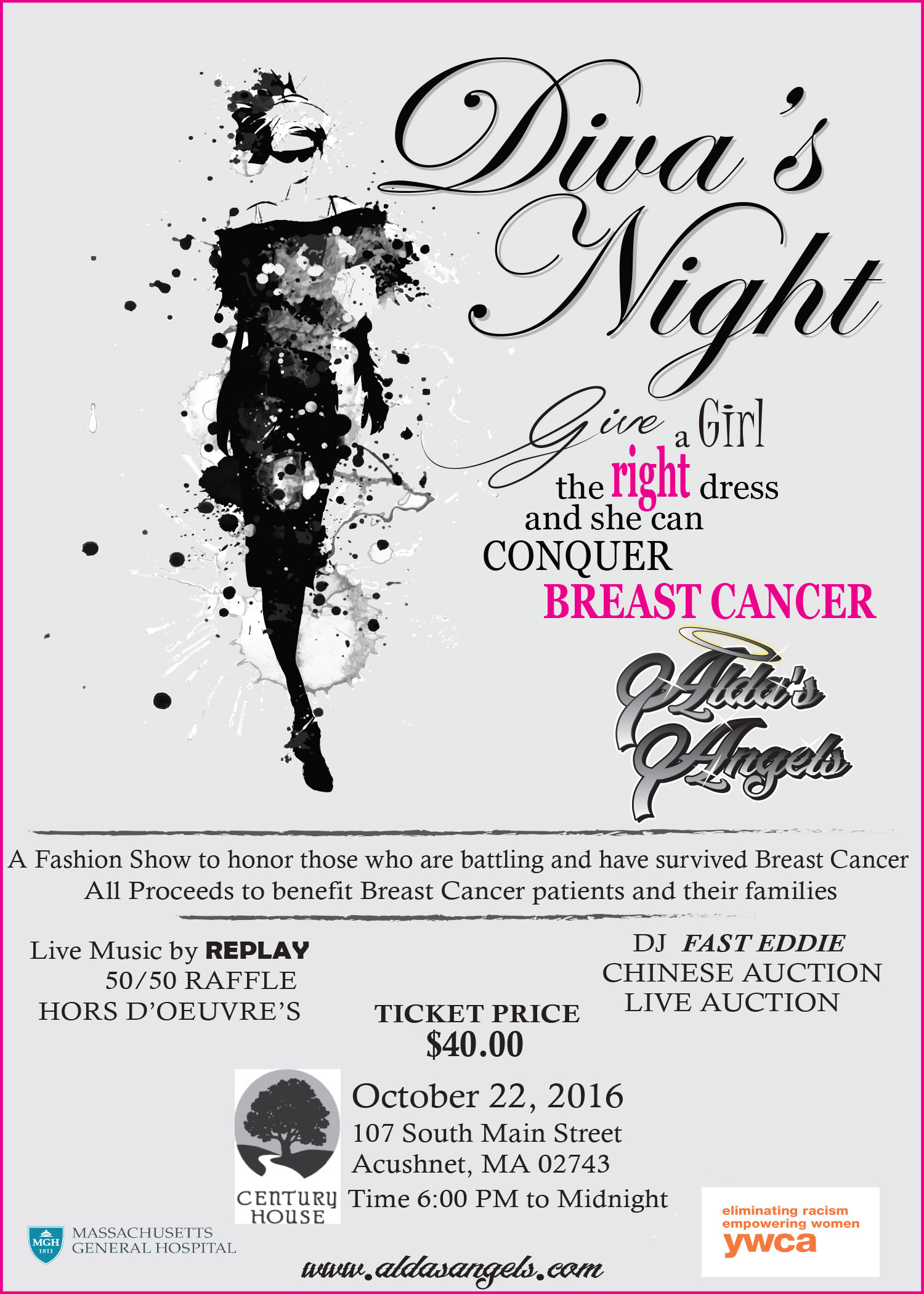 Alda's Angels – Diva's Night for Breast Cancer