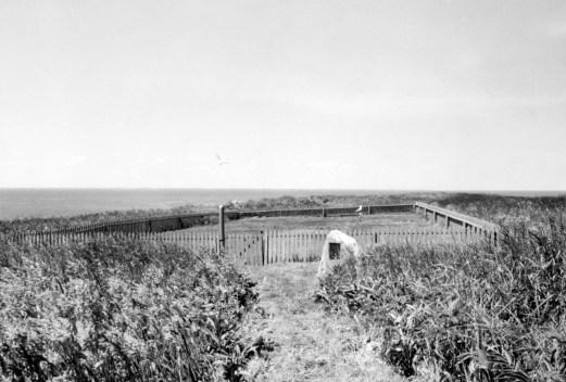 The hospital cemetery. Photo by Joseph D. Thomas