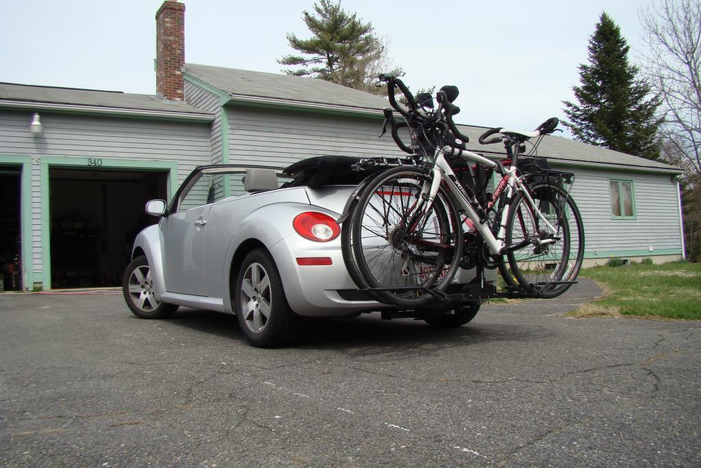 volkswagen beetle bike rack