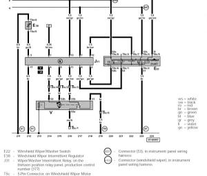 Wiring Diagram for Windshield Wipers  NewBeetle Forums