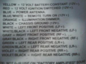 needed 98 20 stereo wiring diagram  NewBeetle Forums