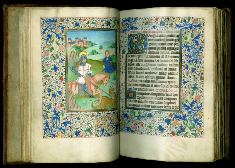 An English Medieval Book Of Hours Newberry