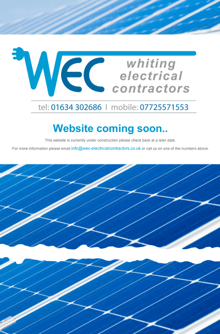 Newble Designs  Client List  WEC  Electrical Contractors