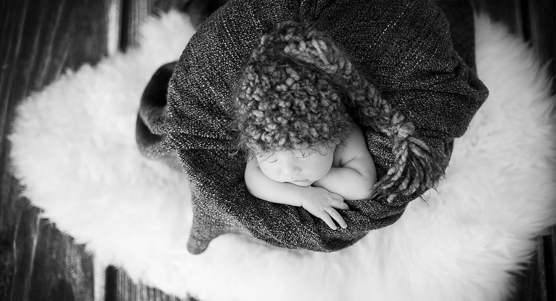 Newborn Kinder Baby Fotografie