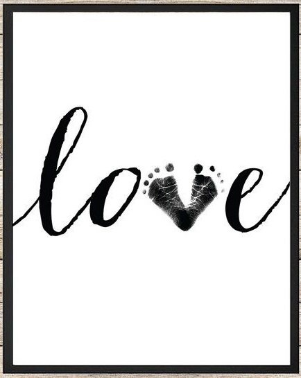 Baby Footprints Arts And Crafts Some Wonderful Ideas For