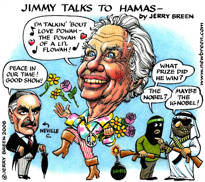bush pronounced manner jimmah cartah Jimmy Carter caricature