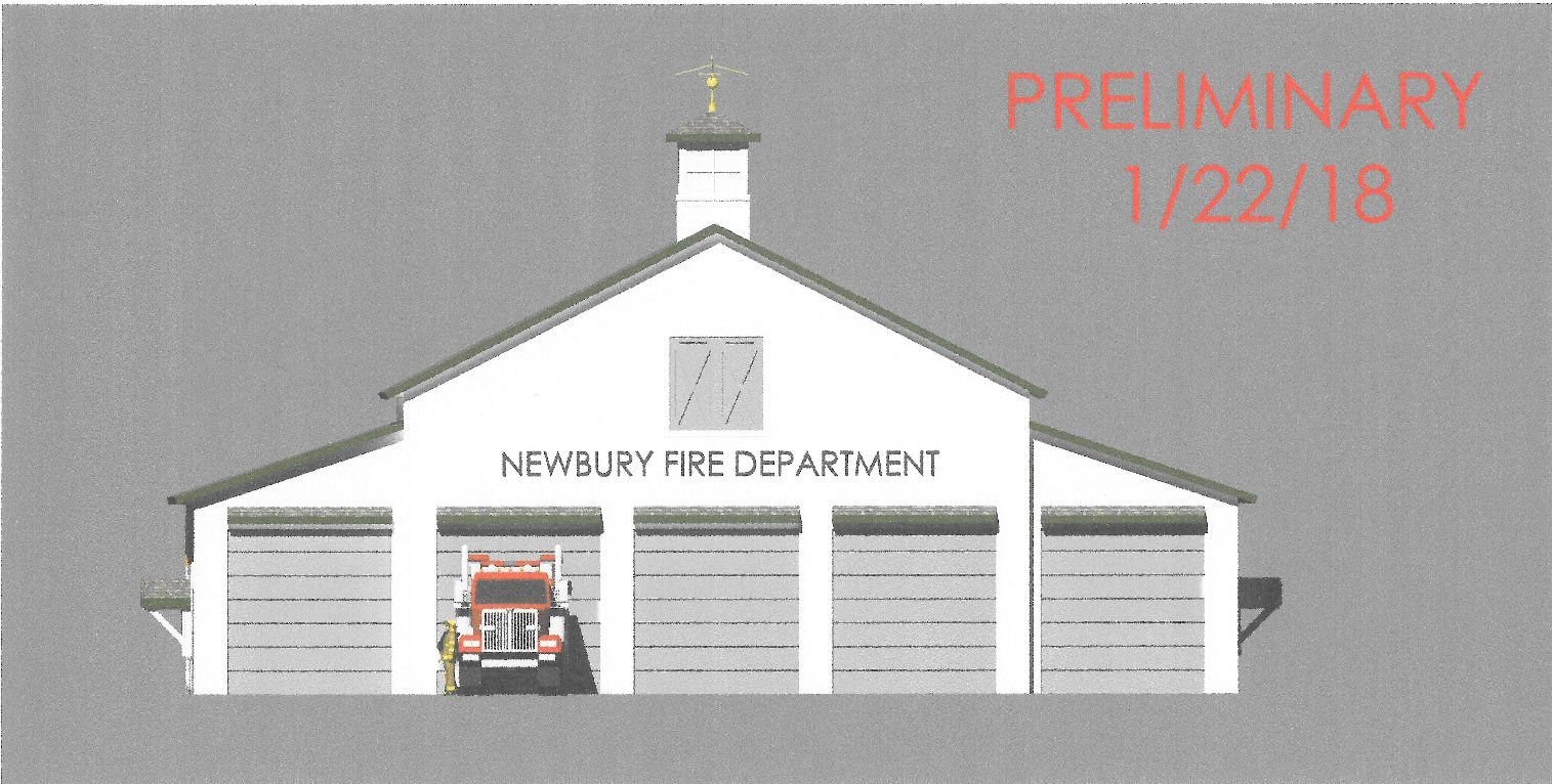 hight resolution of proposed new fire station