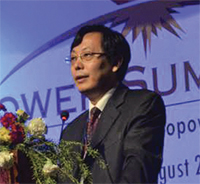 Yasing Zhang,Senior Vice President of Sinohydro Resources Ltd,
