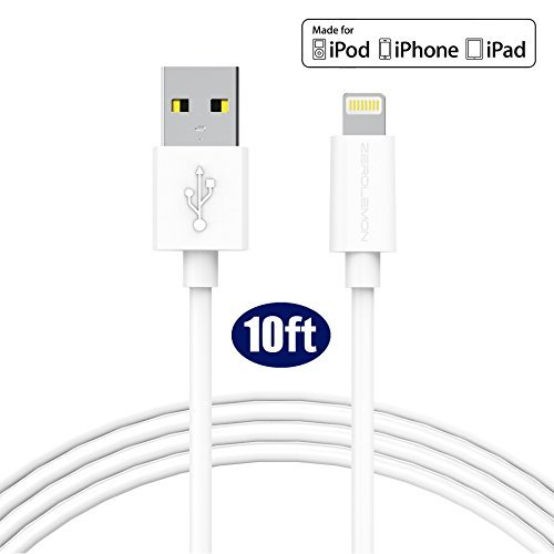 iPhone Charger Apple MFi Certified, ZeroLemon Apple