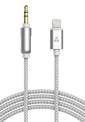 Apple MFI Certified iPhone Aux Lightning Cord to Male 3