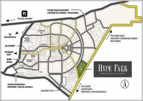 كمبوند هايد بارك القاهرة الجديدة Hyde park compound new cairo