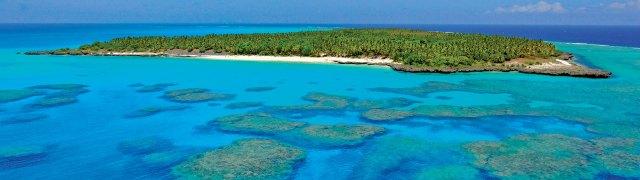 Lagoon of Ouvéa Iles Loyauté in New Caledonia