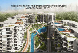 Apartment for sale in Serrano New Capital Compound New plan