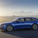 2019 Audi A6 Avant Color Sepang Blue Side Wallpapers 14 Newcarcars