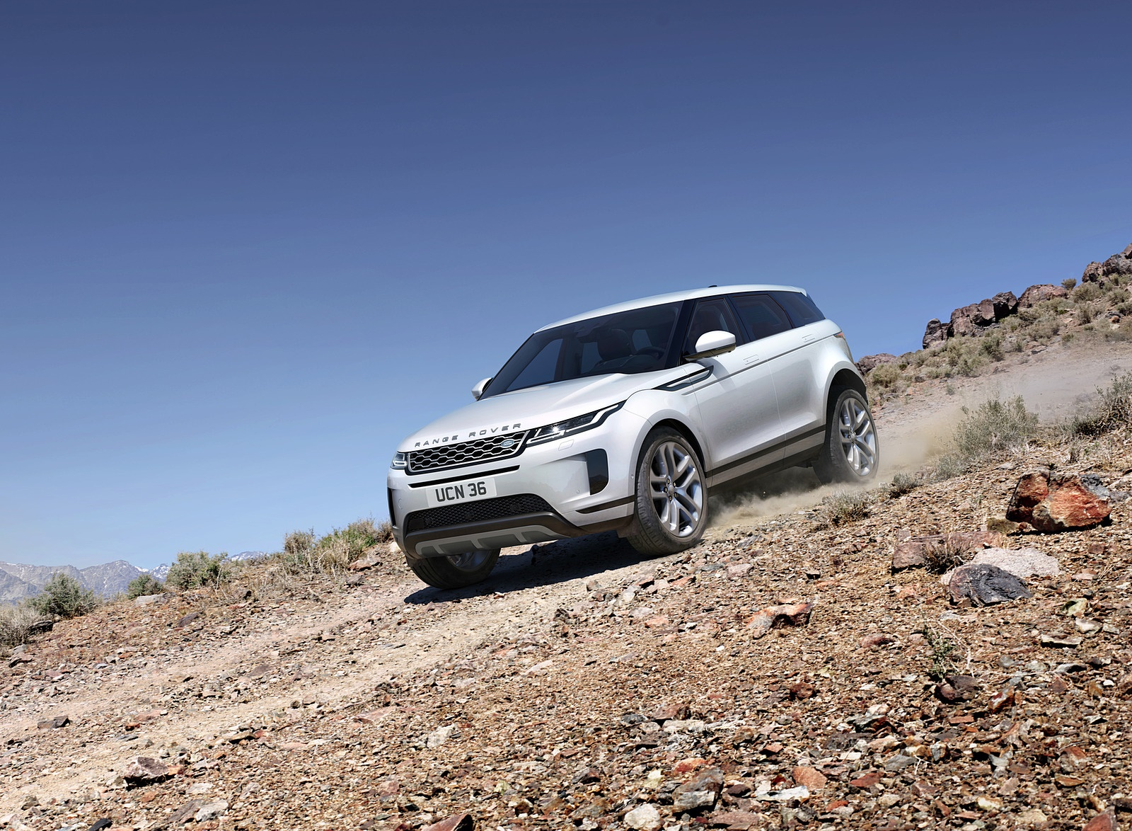 2020 Range Rover Evoque Front Three Quarter Wallpaper 93 Hd