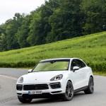 2020 Porsche Cayenne Coupe Color Carrara White Metallic Front Three Quarter Wallpapers 145 Newcarcars