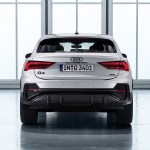 2020 Audi Q3 Sportback S Line Color Dew Silver Rear Wallpapers 150 Newcarcars