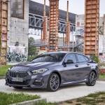 2020 Bmw 2 Series 220d Gran Coupe M Sport Color Storm Bay Metallic Front Three Quarter Wallpapers 14 Newcarcars