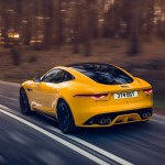 2021 Jaguar F Type R Coupe Awd Color Sorrento Yellow Rear Three Quarter Wallpapers 16 Newcarcars