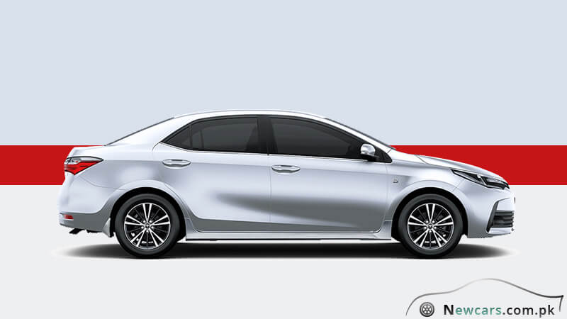 brand new toyota altis price varian warna grand avanza review the corolla grande 2018 model in pakistan side exterior