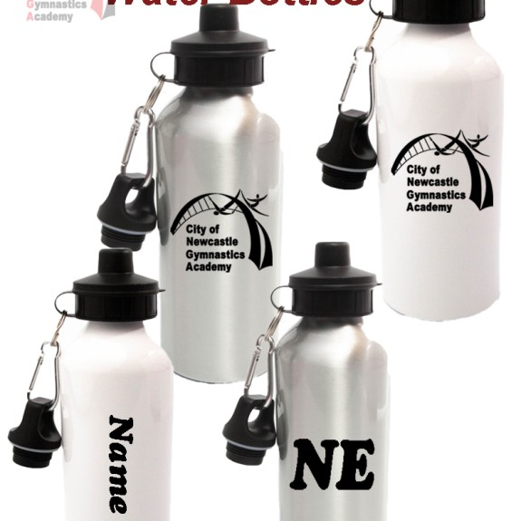 Newcastle Gymnastics Water Bottle - 600ml
