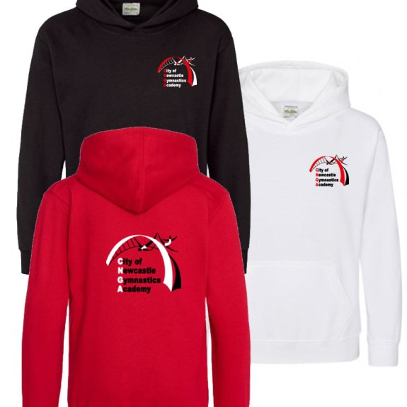 Newcastle Gymnastics Hoodies