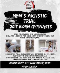 Men's Artistic Open Trial Oct 2020