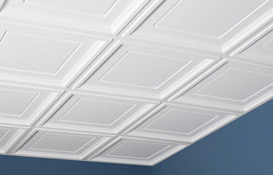 Coffer  Washable  Ceiling Tiles