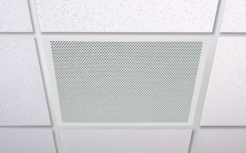 Perforated Lay In Grille : Ac ceiling grille integralbook