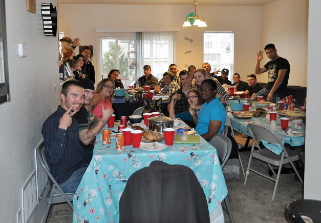 When ThanksGiving becomes ThanksLiving: Tables Become Longer
