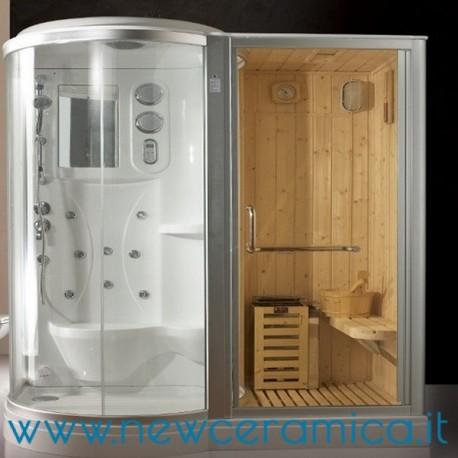 Cabina Doccia Sauna