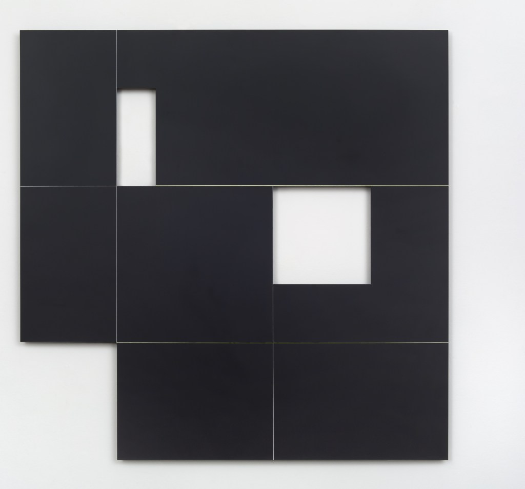 Macaparana, Untitled, 2016, paint over stainless steel, 88 x 88 cm