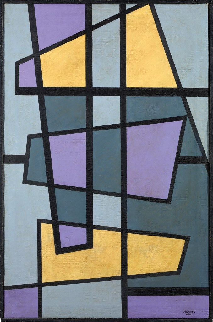 José Mijares, Untitled, 1960, oil on  canvas, 77,5 x 51 cm