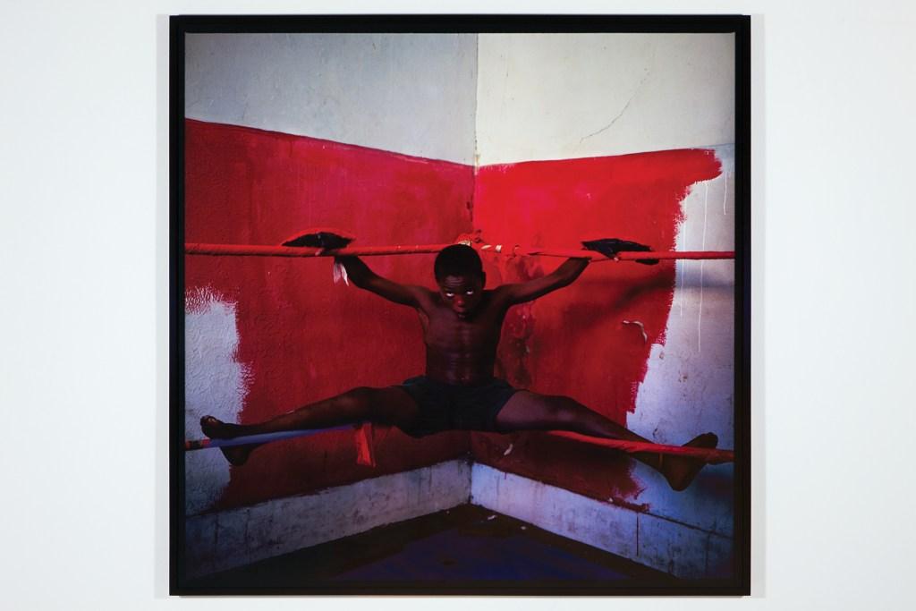 Miguel Rio Branco, Exuzinho, 1991/2012, Fujichrome, 120 x 120 cm. Courtesy Galeria Millan