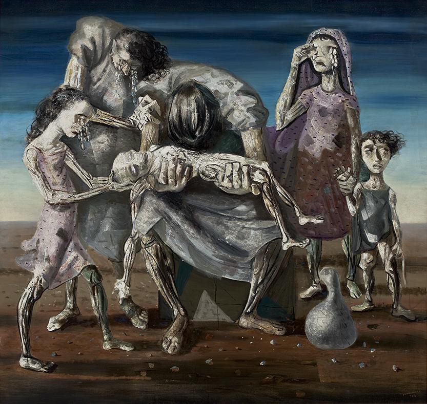 Candido Portinari, Criança morta, 1944, óleo sobre tela, 182 x 190 cm, acervo MASP/Photo: Eduardo Ortega