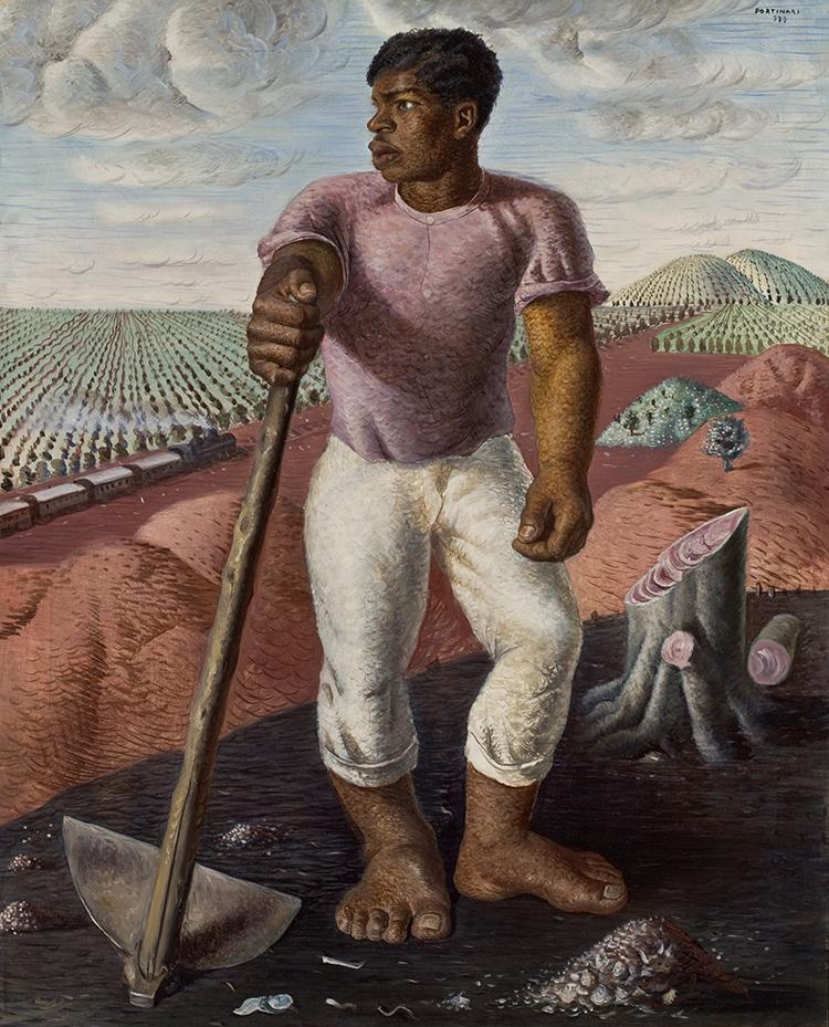 Candido Portinari, O lavrador de café, 1934, óleo sobre tela, 100 x 81 cm, acervo MASP/Photo: Eduardo Ortega