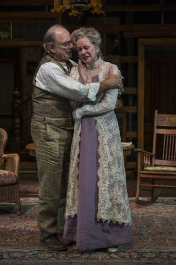 Harris Yulin and Mary Beth Fisher/Photo: Michael Brosilow