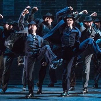 "The cast of ""Bullets Over Broadway""/Photo: Matthew Murphy"