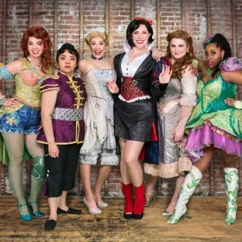 "The cast of ""Disenchanted!""/Photo: Dahlia Katz"